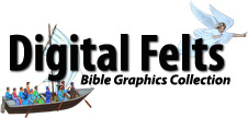 Digital Felt Bible Graphics